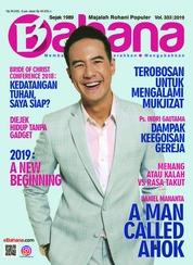 Cover Majalah BAHANA Januari 2019
