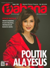 Cover Majalah BAHANA April 2019