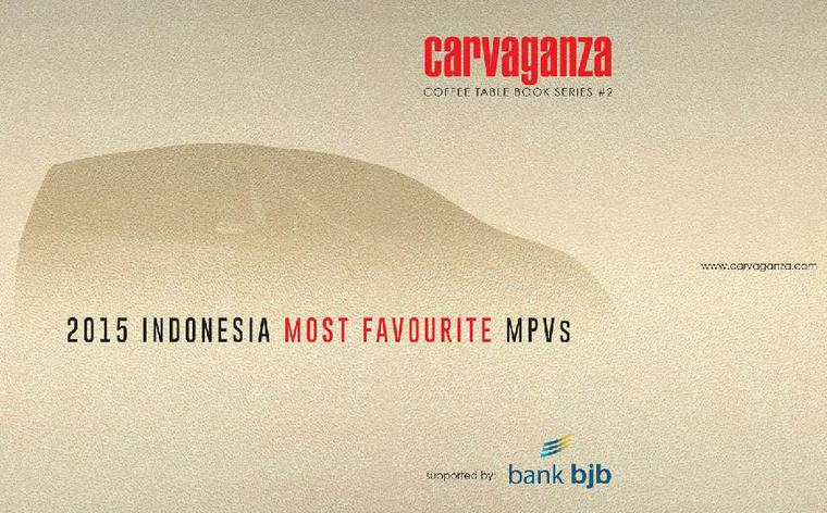 Carvaganza Coffee Table Book 02 : Indonesia Most Favourite MVPs 2015 by Team Carvaganza Digital Book