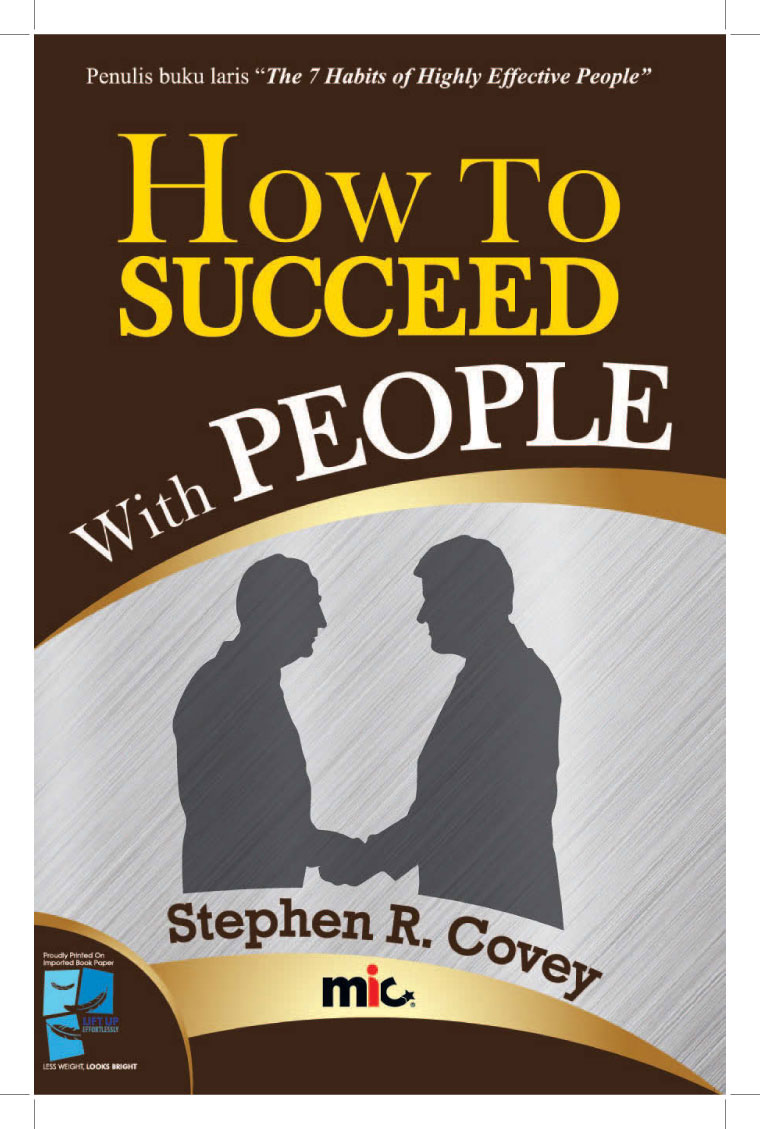 Buku Digital How to Succeed with People oleh Stephen R. Covey
