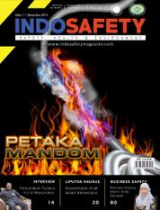 Cover Majalah ISAFETY ED 01 November 2015