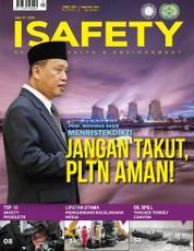 Cover Majalah ISAFETY ED 10 Oktober 2016