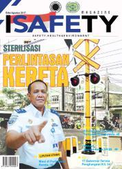Cover Majalah ISAFETY Magz ED 08 Agustus 2017