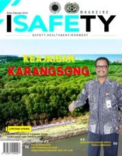 Cover Majalah ISAFETY Magz ED 02 Februari 2018