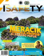 Cover Majalah ISAFETY Magz ED 04 April 2018