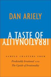 Cover A Taste of Irrationality oleh Dr. Dan Ariely