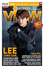 VIEW Magazine Cover October 2017