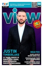 VIEW Magazine Cover February 2018