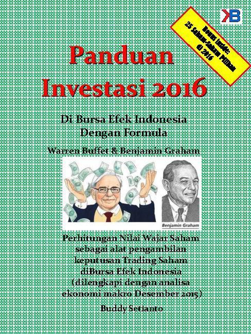 Buku Digital Panduan Investasi 2016 Di Bursa Efek Indonesia oleh Buddy Setianto