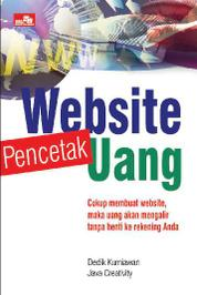 Website Pencetak Uang by Java Creativity Cover