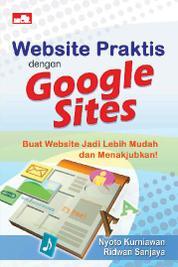 Cover Website Praktis dengan Google Sites oleh Ridwan Sanjaya