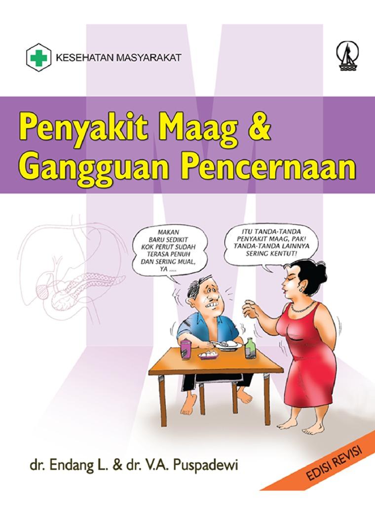 Buku Digital Penyakit Maag dan Gangguan Pencernaan oleh Endang L.
