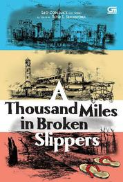 A Thousand Miles in Broken Slippers by Rosi L. Simamora Cover
