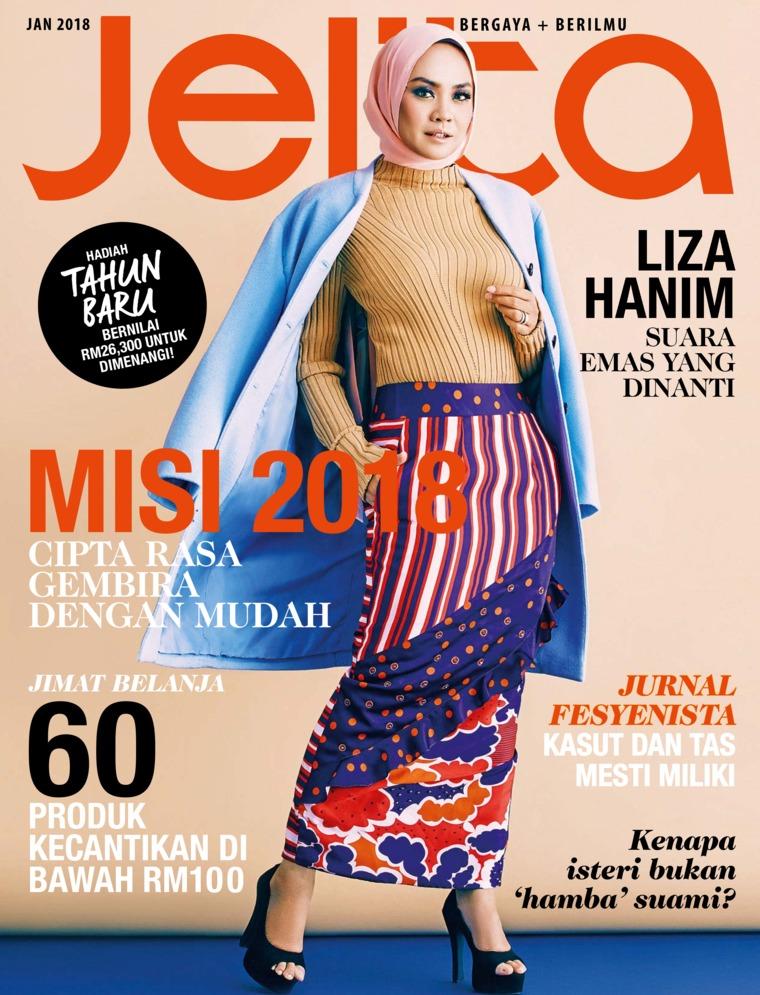 Majalah Digital jelita Malaysia Januari 2018