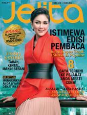 Cover Majalah jelita Malaysia Agustus 2017