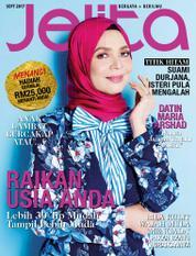 Cover Majalah jelita Malaysia September 2017