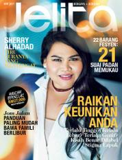 Cover Majalah jelita Malaysia November 2017