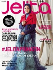 Cover Majalah jelita Malaysia Maret 2018