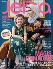 Cover Majalah jelita Malaysia Mei 2018