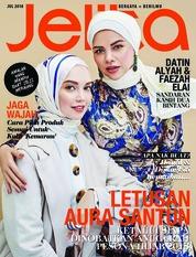 Cover Majalah jelita Malaysia Juli 2018