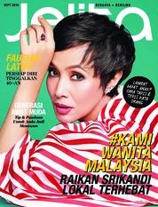 Cover Majalah jelita Malaysia September 2018