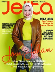 Cover Majalah jelita Malaysia November 2018