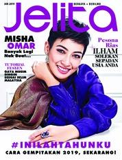 Cover Majalah jelita Malaysia Januari 2019