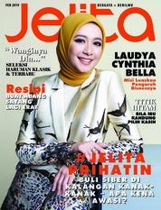 Cover Majalah jelita Malaysia Februari 2019