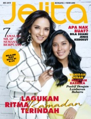 Cover Majalah jelita Malaysia Mei 2019
