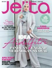 Cover Majalah jelita Malaysia Juni 2019