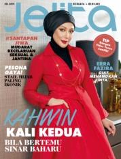 Cover Majalah jelita Malaysia Juli 2019