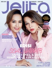 Cover Majalah jelita Malaysia Agustus 2019