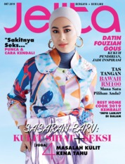 Jelita Malaysia Magazine Cover