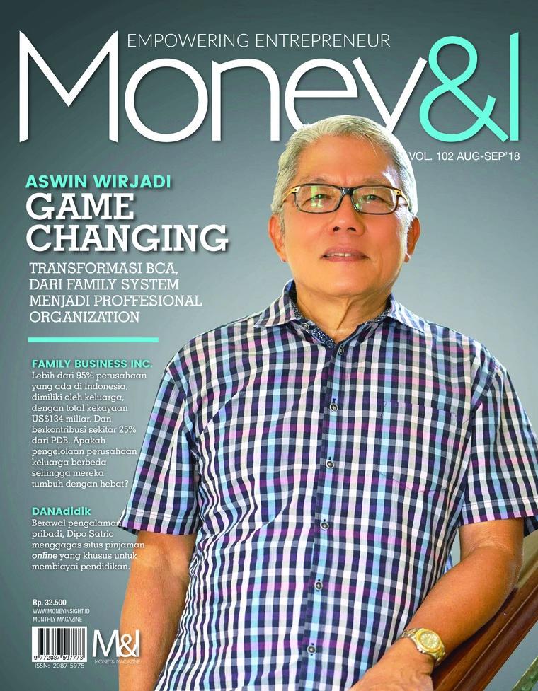 Majalah Digital Money & I ED 102 Agustus 2018
