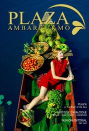 PLAZA AMBARRUKMO Magazine Cover June–July 2017