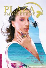 PLAZA AMBARRUKMO Magazine Cover December–January 2018