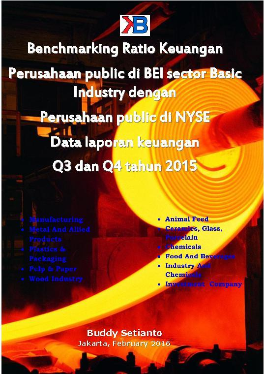 Basic Industries 2016 Benchmark by Buddy Setianto Digital Book