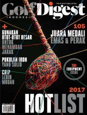 Cover Majalah Golf Digest Indonesia Maret 2017