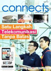 Cover Majalah connects