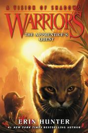 Cover Warriors: A Vision of Shadows #1: The Apprentice's Quest oleh Erin Hunter