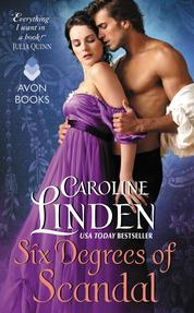 Six Degrees of Scandal by Caroline Linden Cover