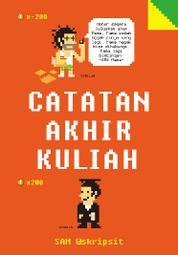 Cover Catatan Akhir Kuliah oleh