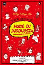 Cover Komik Corat-Coret: Made In Indonesia oleh Wahyu Aditya