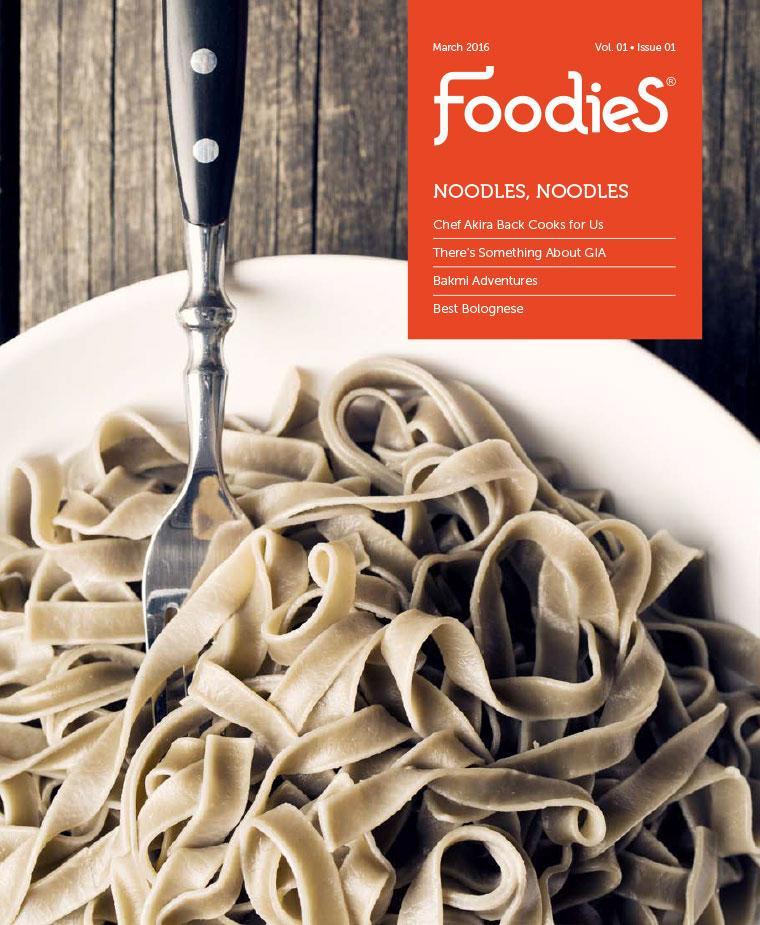 Foodies Digital Magazine March 2016