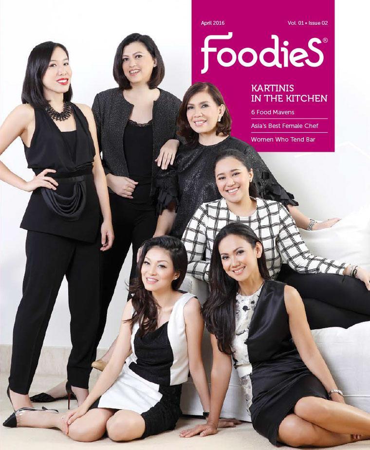 Foodies Digital Magazine April 2016