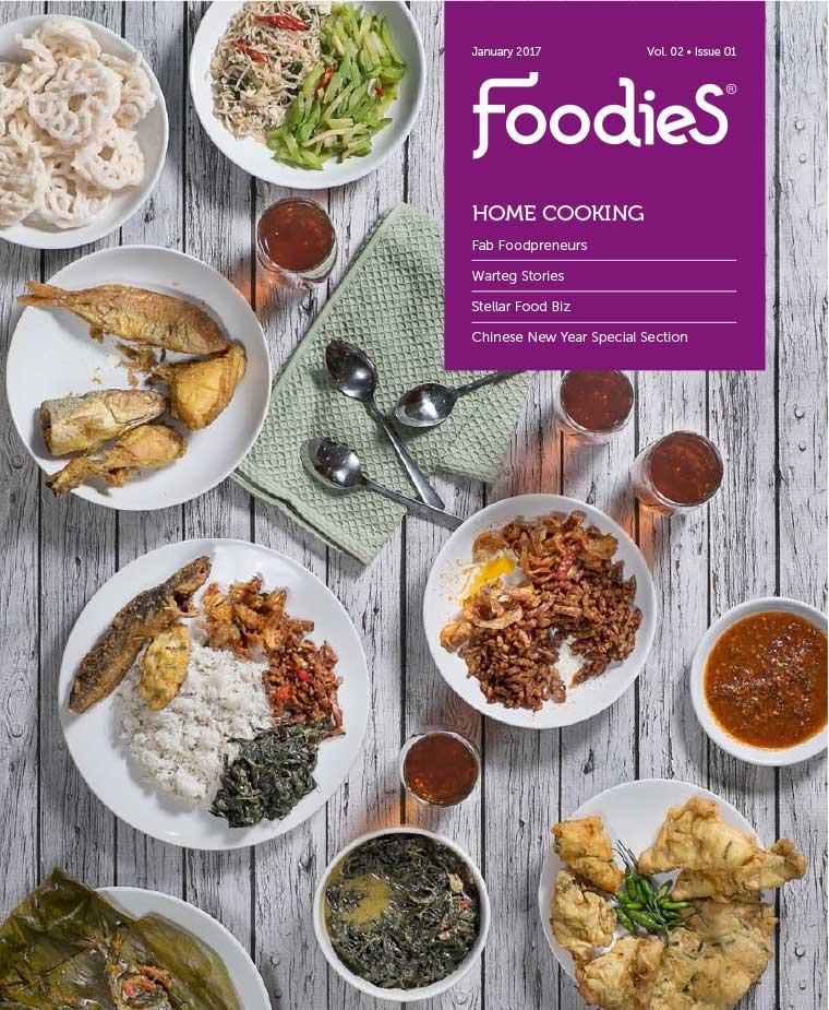 Majalah Digital Foodies Januari 2017