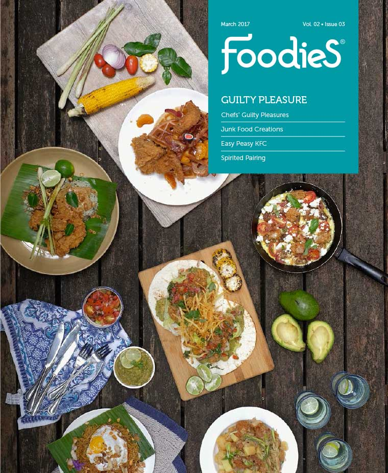 Foodies Digital Magazine March 2017