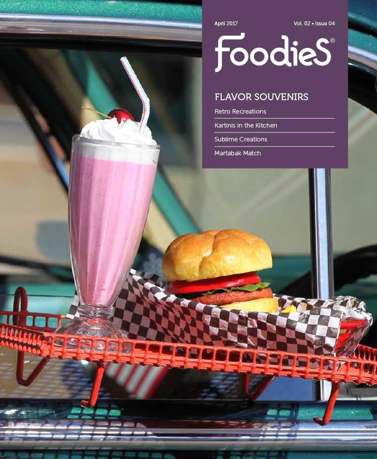 Foodies Digital Magazine April 2017