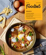Foodies Magazine Cover May 2016