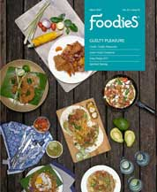 Foodies Magazine Cover March 2017